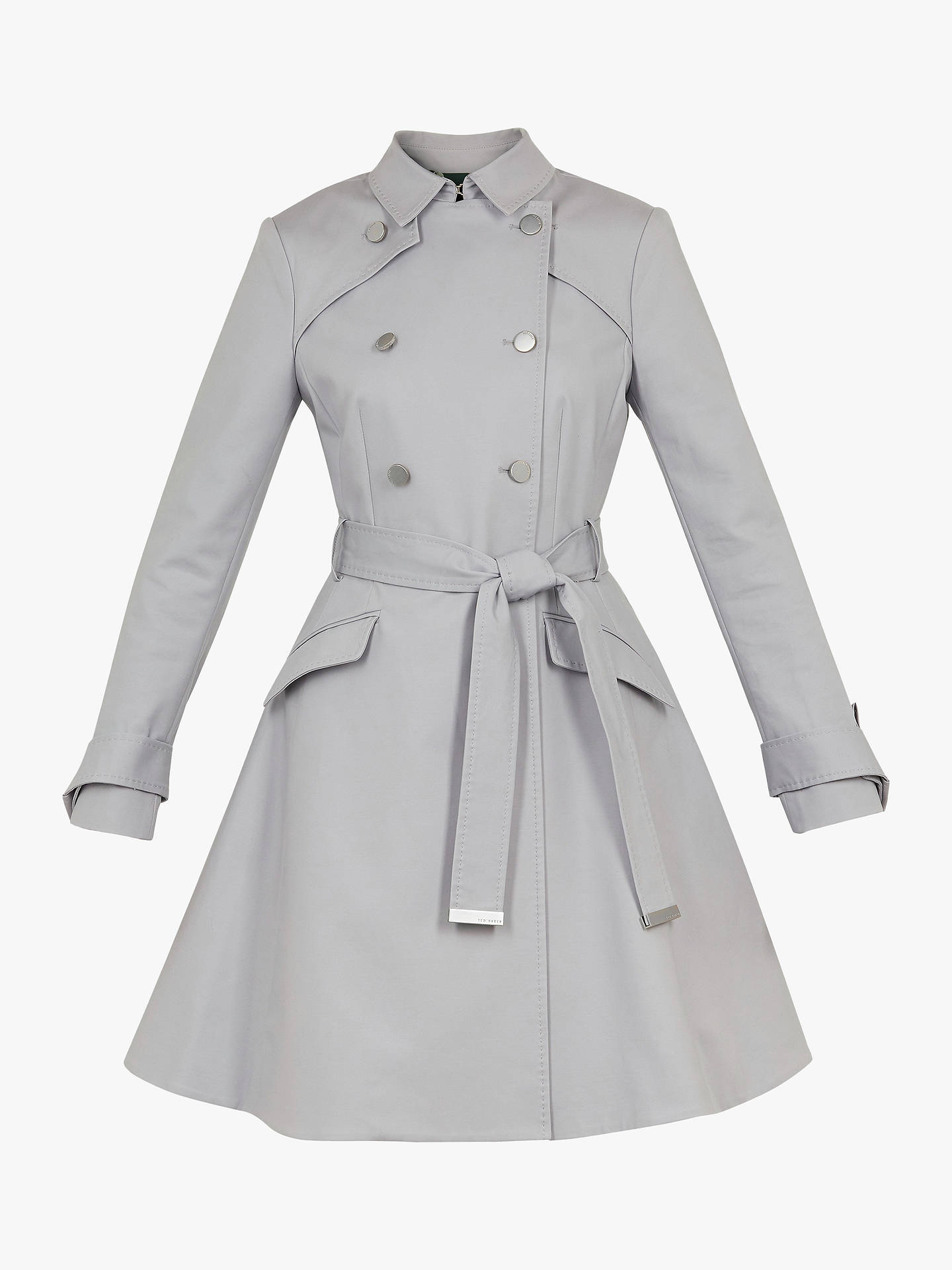 0e51d5337fac ... Buy Ted Baker Marrian Knot Cuff Detail Trench Coat