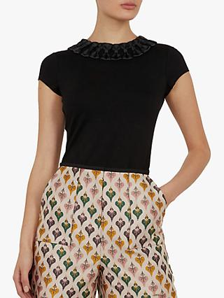 87d280c64d31bf Ted Baker Charre Bow Neck Fitted Top