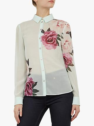e626470cb62b7 Ted Baker Zaylaa Floral Blouse