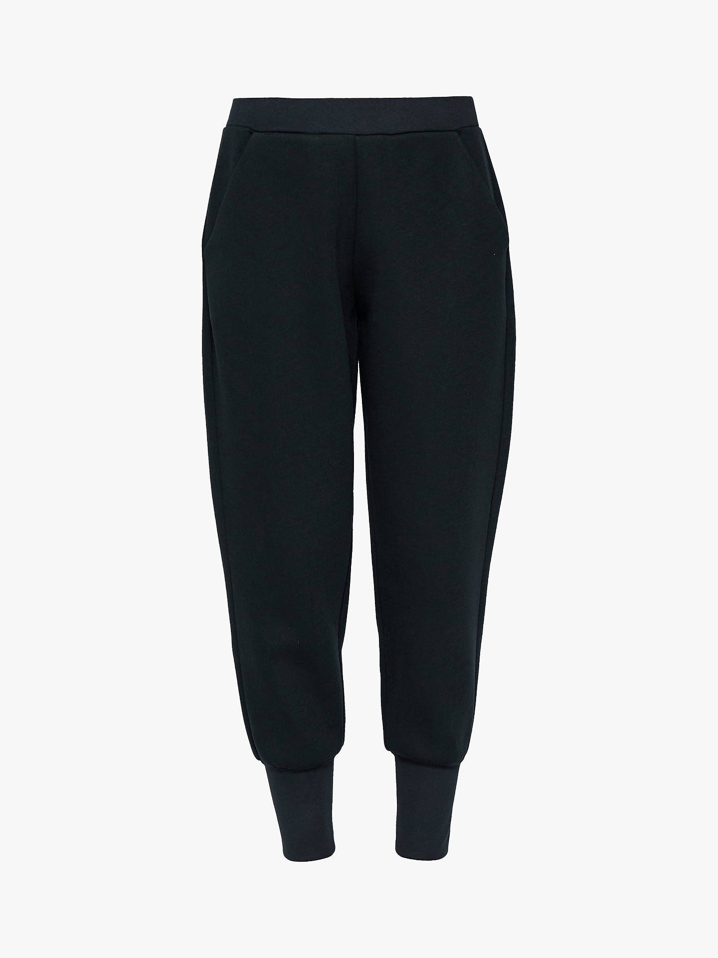 BuyTed Baker Radonna Jersey Jogger Trousers, Blue Mid, S Online at johnlewis.com