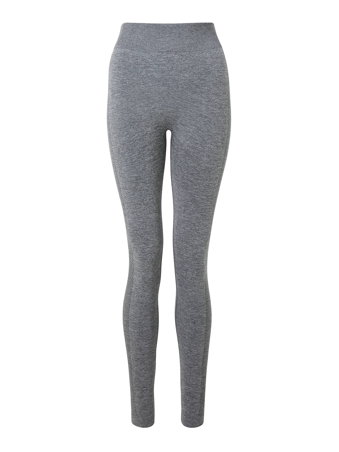 BuyPATTERNITY + John Lewis Seam Free Textured Leggings, Grey, S Online at johnlewis.com