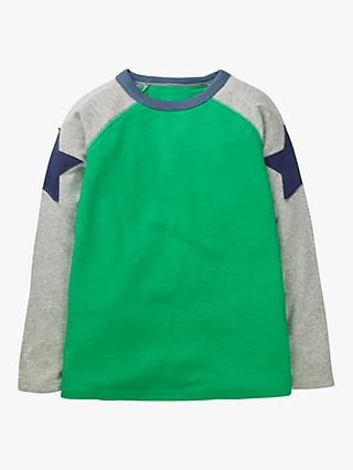 Mini Boden Boys' Superstar T-Shirt, Green