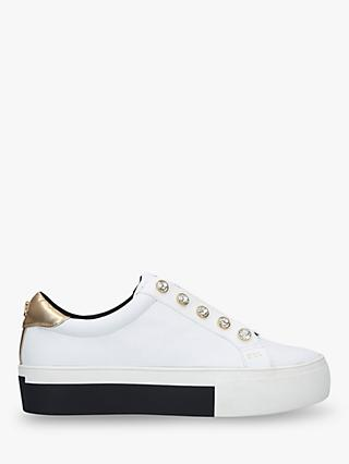 Kurt Geiger London Liviah Studded Low Top Trainers