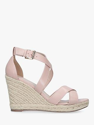 Carvela Smashing Cross Strap Wedge Heel Sandals