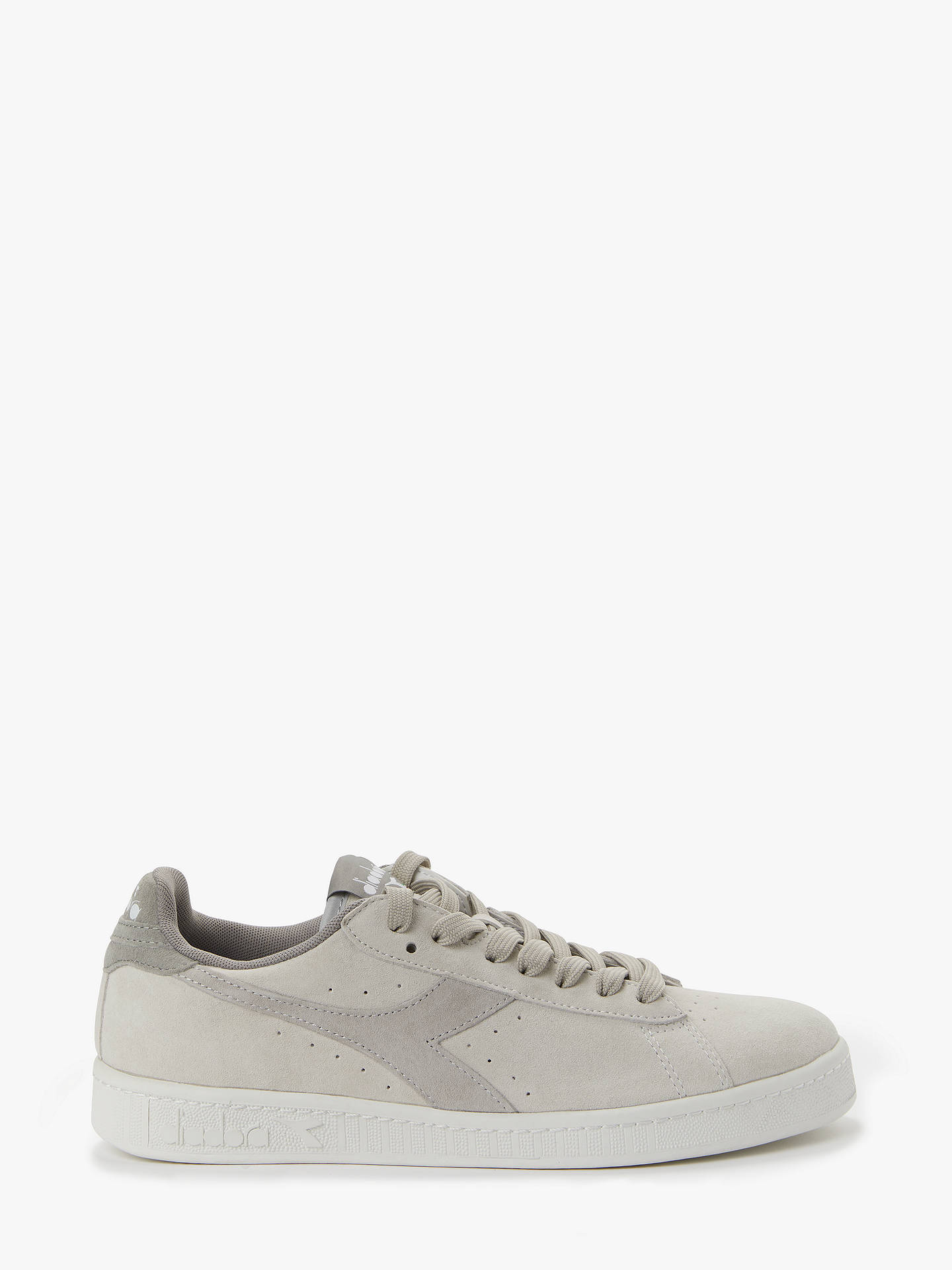 09173ef621 Diadora Game Low Grain Trainers, Wind Chime/Storm Grey at John Lewis ...