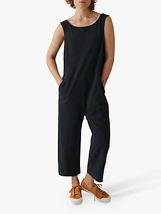 Toast Cotton Lydia Jumpsuit, Black