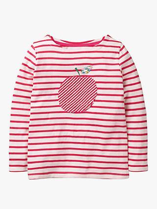9a9f674b3f Mini Boden Girls  Apple Breton T-Shirt