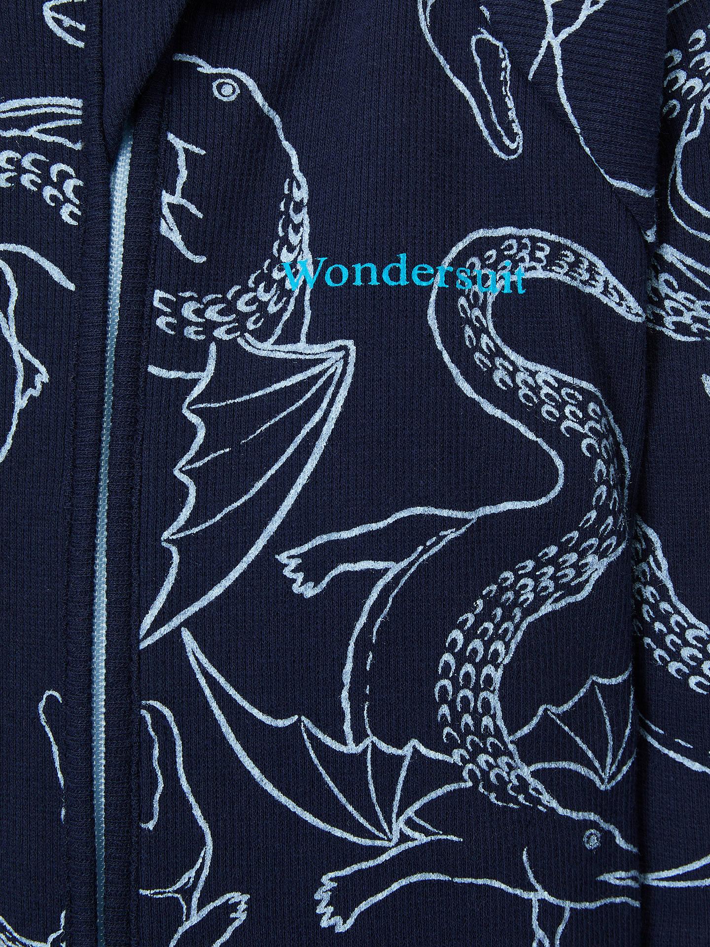 a3b54b382b3f ... Buy Bonds Baby Crocodile Dragon Outline Wondersuit, Blue, 0-3 months  Online at