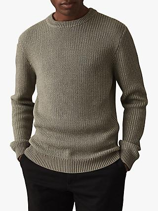 Reiss Filbert Ribbed Jumper
