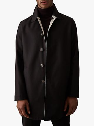 Reiss Flight Reversible Single Breasted Mac Jacket