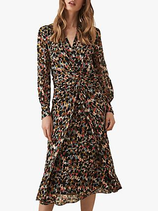 Reiss Lita Ditsy Dress, Multi