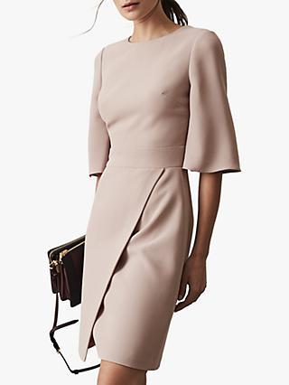 7fb53f86b0d8 Reiss Myra Tailored Wrap Front Dress