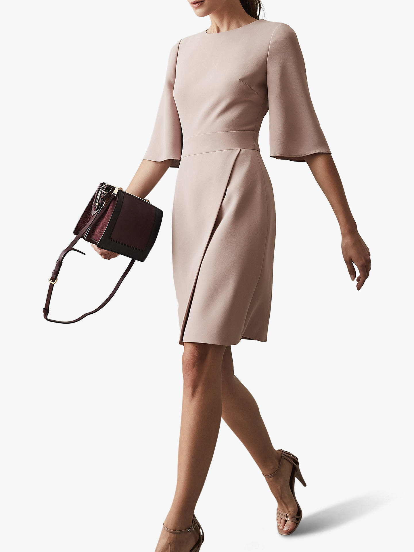 0119fadead ... BuyReiss Myra Tailored Wrap Front Dress