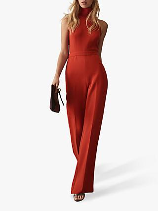 Reiss Dori High Neck Jumpsuit