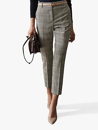Reiss Alenna Tailored Trousers, Multi