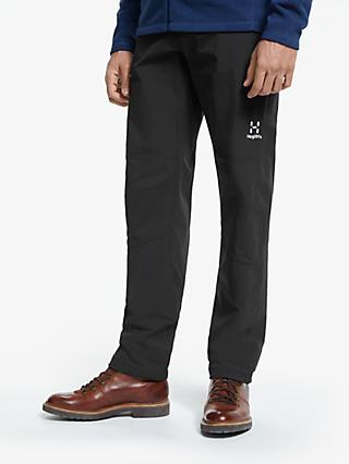 Haglöfs Morän Waterproof Trousers, True Black