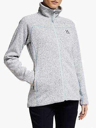 Haglöfs Swook Women's Fleece Jacket, Concrete
