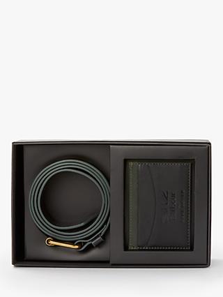 59f6033fe80 Barbour Land Rover Defender Belt and Card Holder Gift Set
