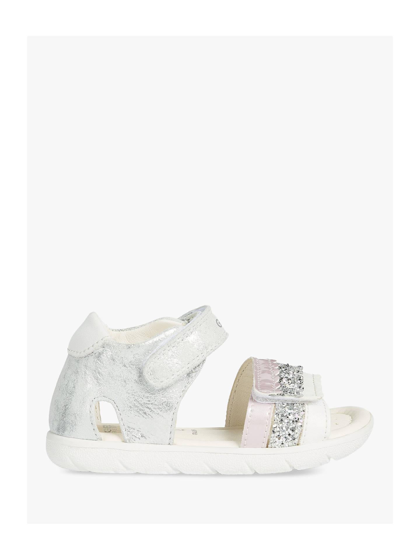 6b312686b4b6 Geox Junior S Alul Sandals, Silver