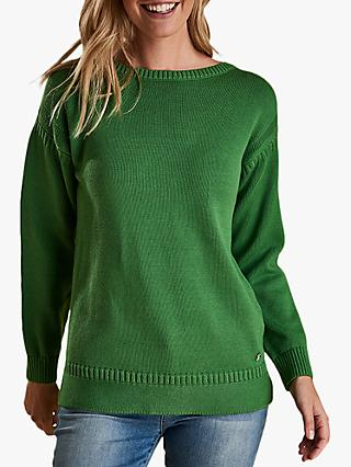 Barbour Sailboat Jumper, Clover