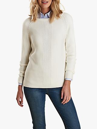 Barbour Carisbrooke Jumper, Off White