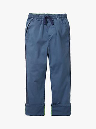 Mini Boden Boys' Chino Trousers, Lagoon Blue