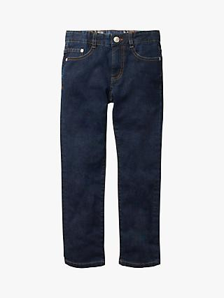 Mini Boden Boys' Slim Fit Jeans, Dark Vintage