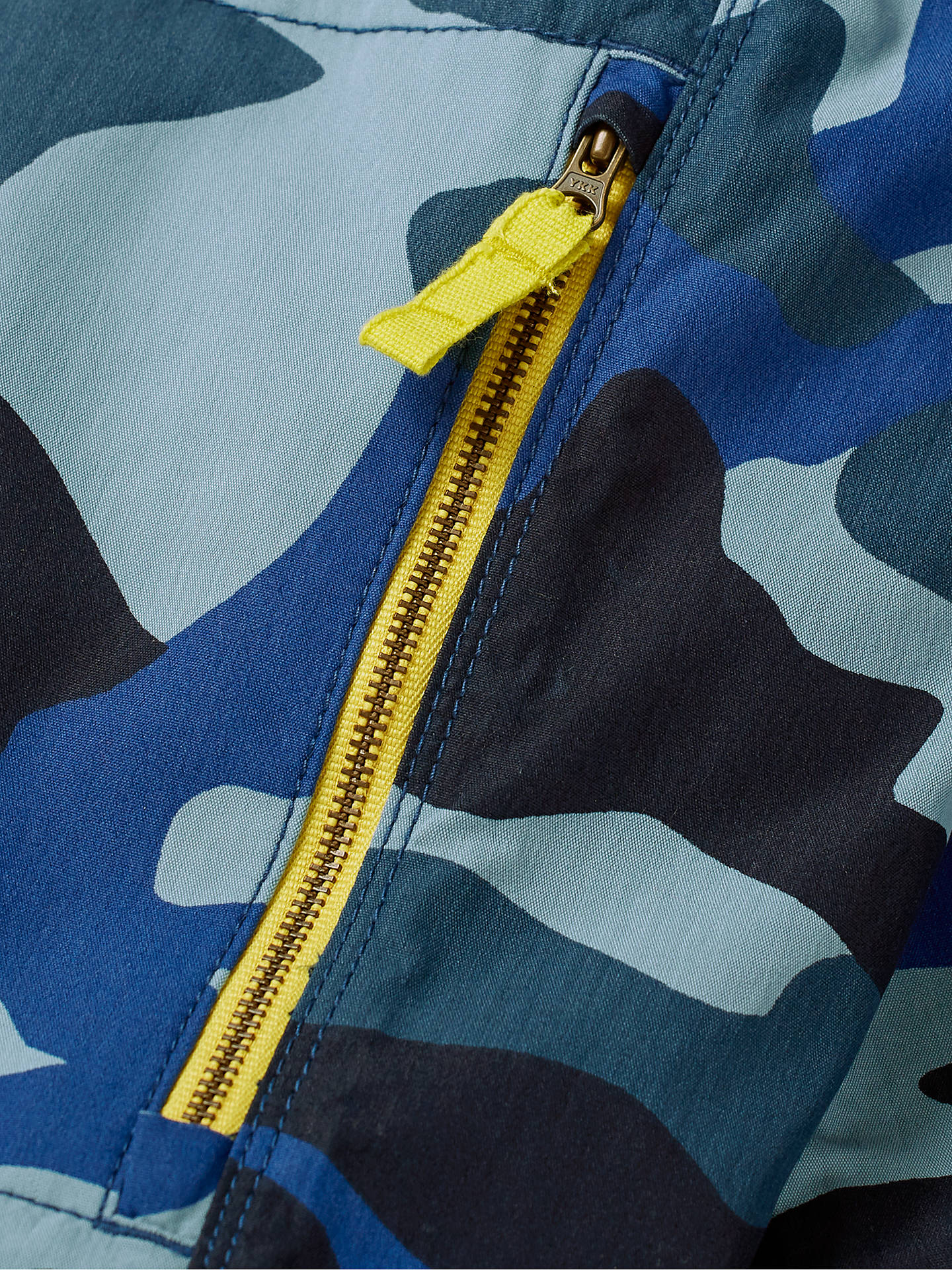 7f82b2c0d ... Buy Mini Boden Boys' Zip Off Techno Trousers, Blue Camouflage, 7 years  Online