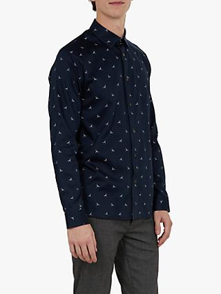 Ted Baker Long Sleeve Zoo Bird Shirt