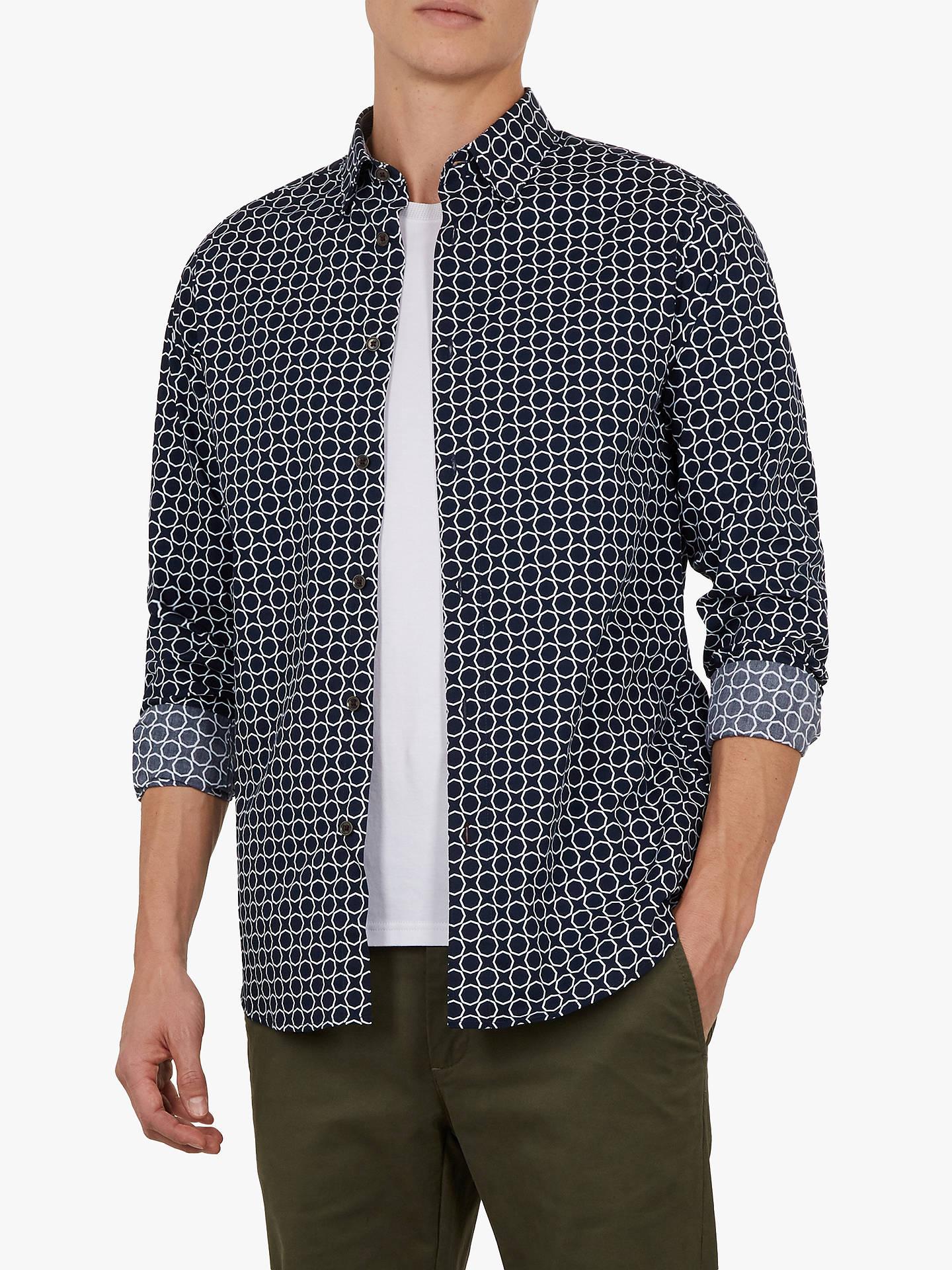 e49f19d9b Buy Ted Baker Wiggle Geometric Print Shirt