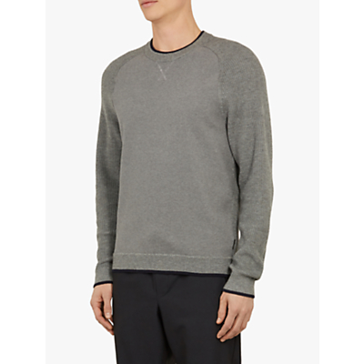 Ted Baker Smug Ribbed Crew Neck Jumper