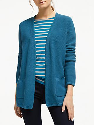 Seasalt Fox Cove Cardigan, Dark Teal