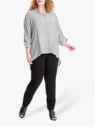 3d098b10fcf77 Max Studio + Slim Stripe Shirt