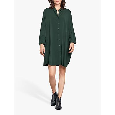 hush Bloomsbury Shirt Dress, Dark Forest