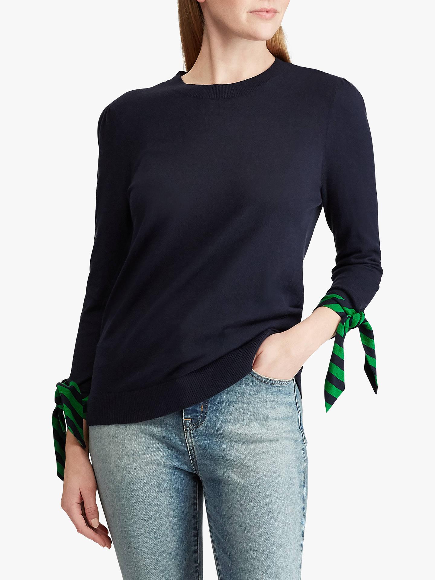 BuyLauren Ralph Lauren Sumati Tie Sleeve Jumper 3e961f393aa
