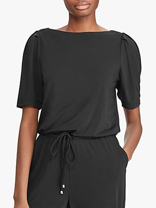 Ralph Lauren Totsi Jumpsuit, Polo Black