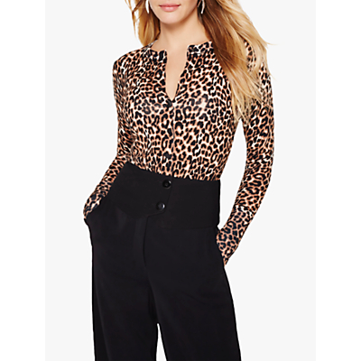 Damsel in a Dress Annie Animal Print Cardigan, Leopard