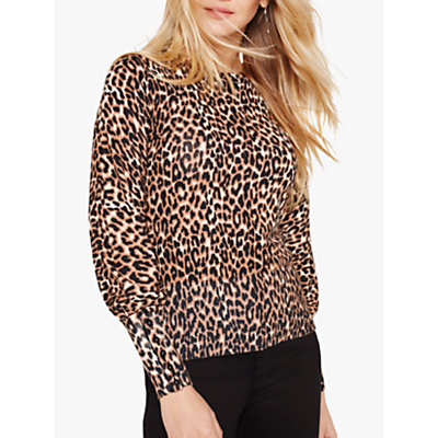 Damsel in a Dress Annie Animal Print Jumper, Leopard
