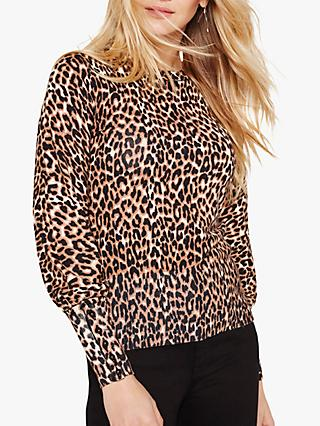 Damsel in a Dress Annie Animal Print Jumper