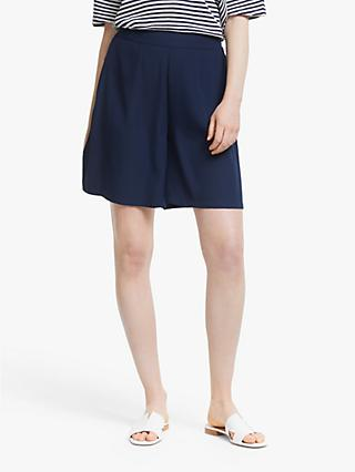 John Lewis & Partners Fluid Shorts, Navy