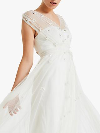 25ddc1e84b Phase Eight Yazmina Embroidered Sheer Bridal Dress