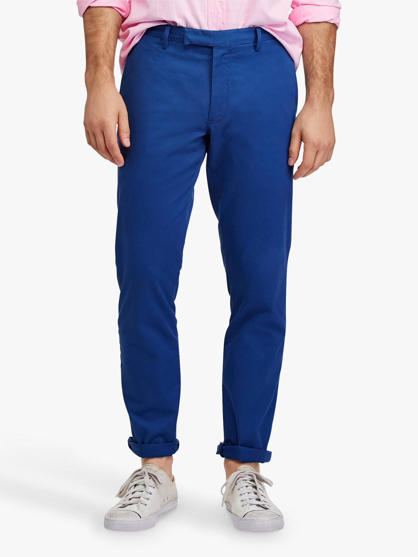 pre order to buy famous brand Polo Ralph Lauren Stretch Slim Fit Chinos at John Lewis ...