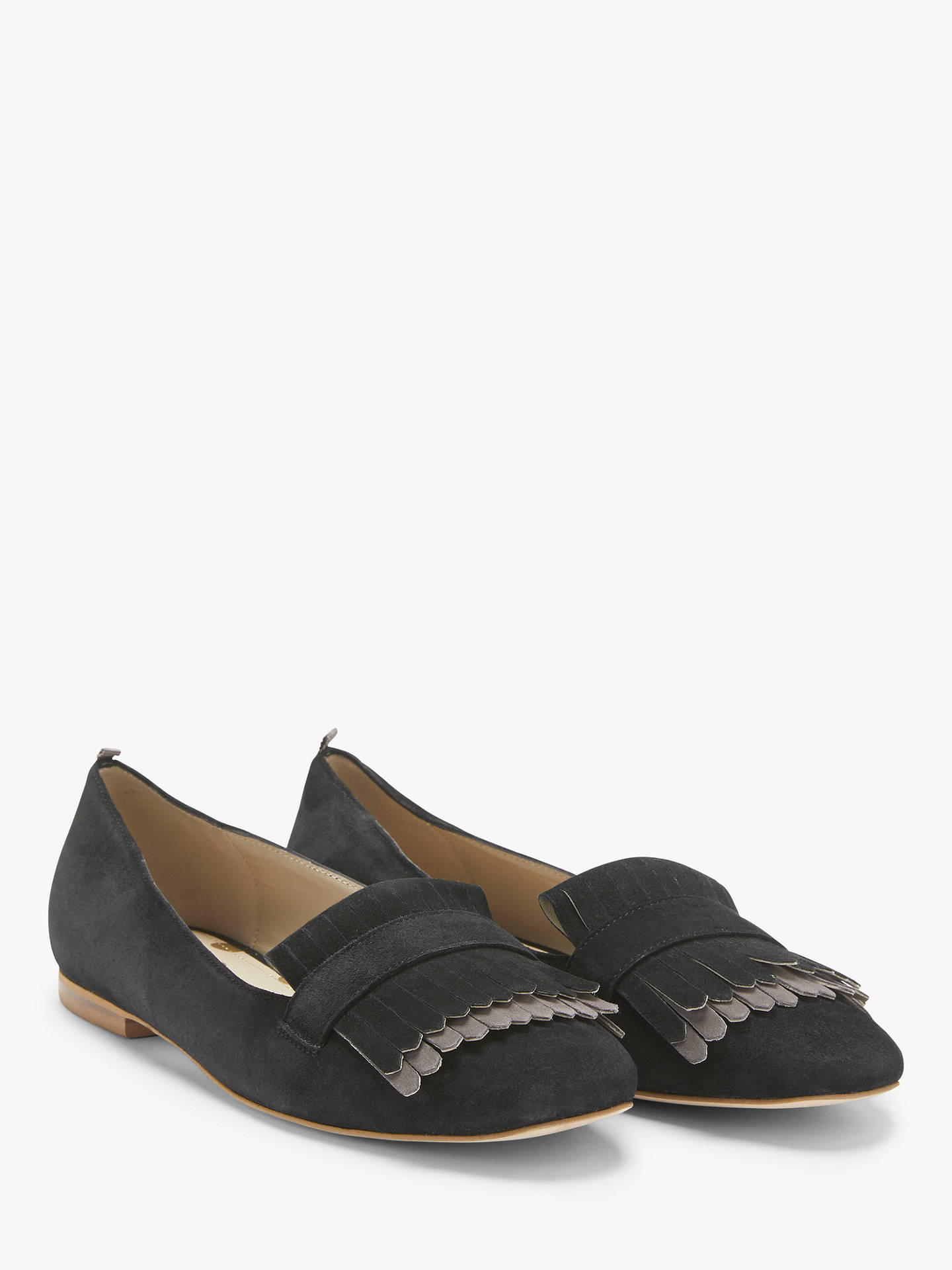 9b43cc38a06 Boden Melody Fringe Loafers at John Lewis   Partners