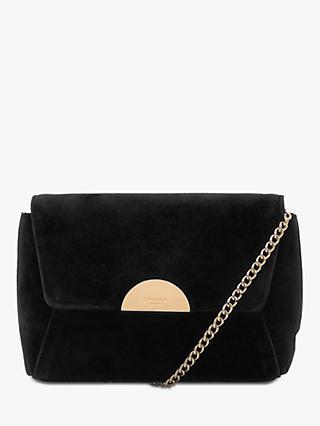 aeb01e79938e Dune Billiee Suede Clutch Bag