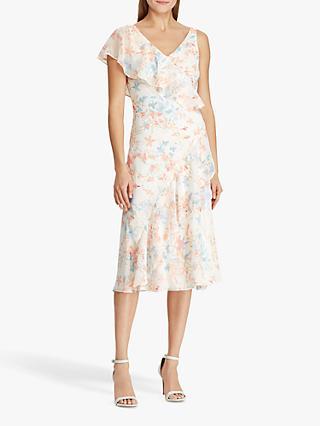 50648edf41 Lauren Ralph Lauren Libbie Floral Print Georgette Dress