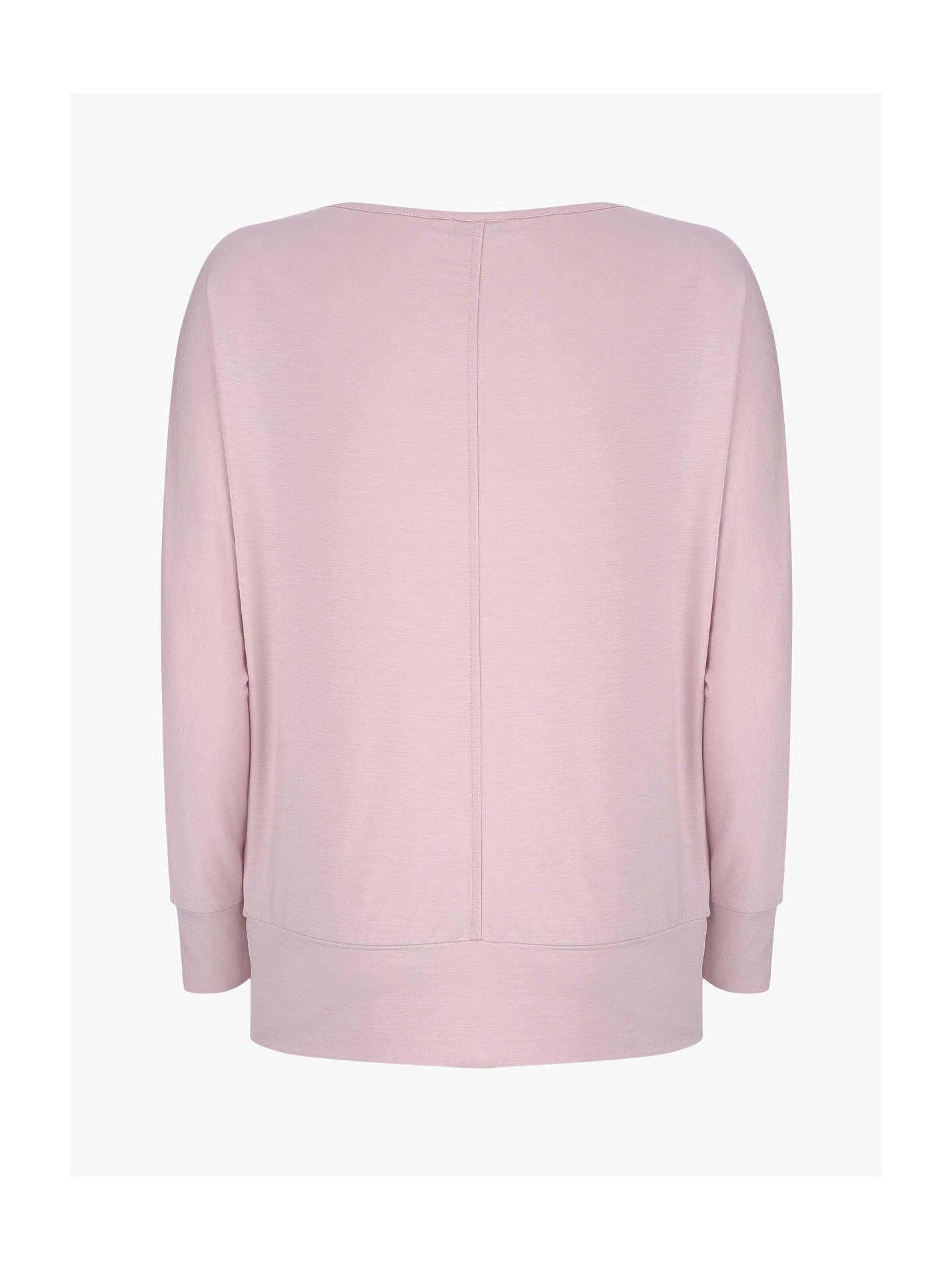 fc0aba6e ... Buy Mint Velvet Batwing T-Shirt, Pink, XS Online at johnlewis.com ...