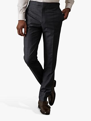 Reiss Parker Check Tailored Trousers