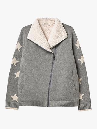 White Stuff Copenhagen Cardigan, Grey
