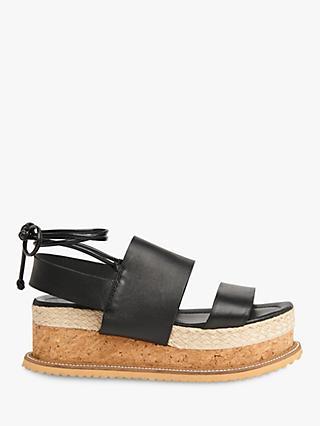 96028cdd4a4c Whistles Rae Tie Up Flatform Sandals