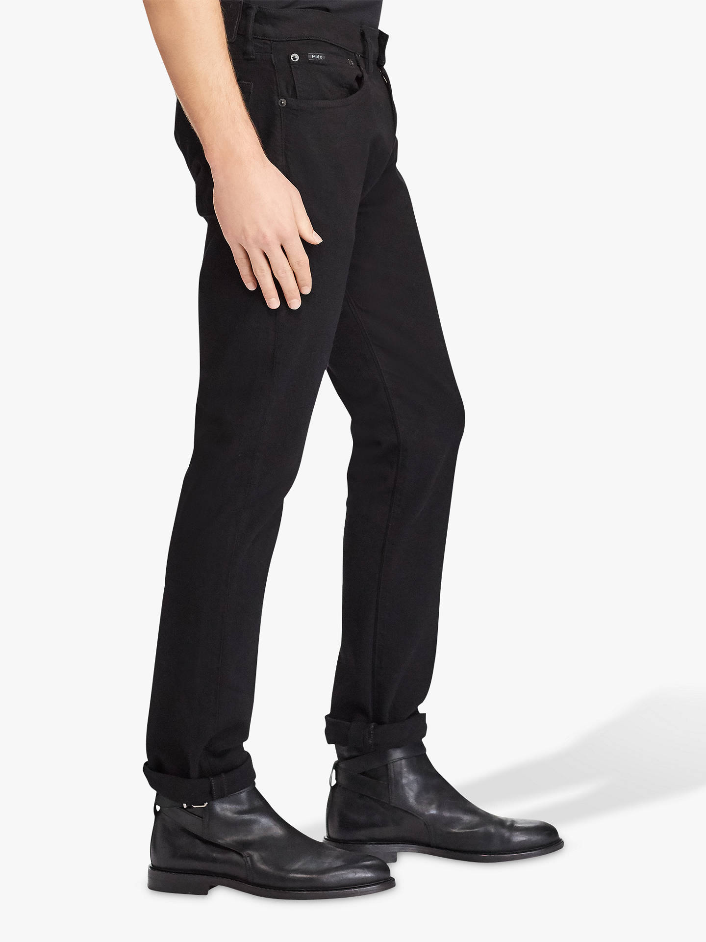 4da494f90c Polo Ralph Lauren Sullivan Slim Stretch Jeans, Black